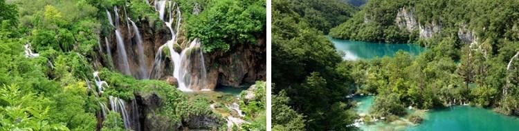 早餐后,乘车前往【普利特维采湖国家公园】*(含小火车和游船,游览时间:不少于2小时),又称为十六湖国家公园,国家公园建于1949年,并于1979年登录为世界遗产。千百年来,流动的水在石灰石和白垩质的地形上不断钙华沉积,创造天然大坝及一系列美丽的湖泊,洞穴和瀑布。岩溶流域大约有20湖泊,所创造的沉积碳酸钙沉淀水通过该区的苔藓,藻类和水生细菌,这些奇怪的创建,含有钙华的形状和特点,形成房屋状和拱形样式的洞穴。普利特维采国家公园包含了十六座一系列美丽的湖泊,洞穴和瀑布。由于地质的剥蚀和崩落,潺潺流水与高挂天际的